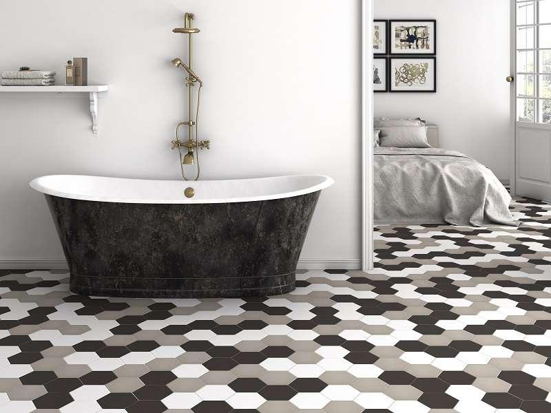 Idee e soluzioni originali su come rivestire le pareti del - Piastrelle colorate per bagno ...