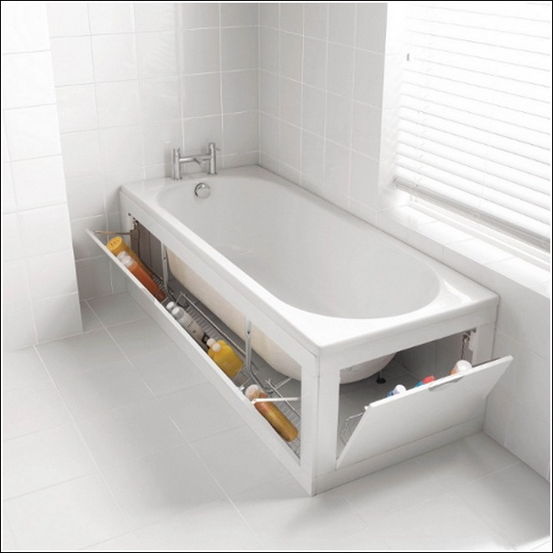 dieci idee per sfruttare lo spazio in bagno -